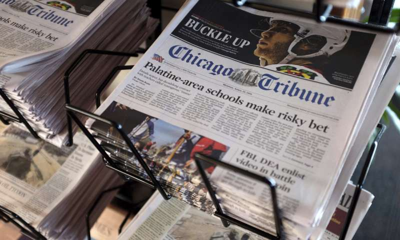 Hedge fund Alden offers to buy Tribune, valuing it at $521M