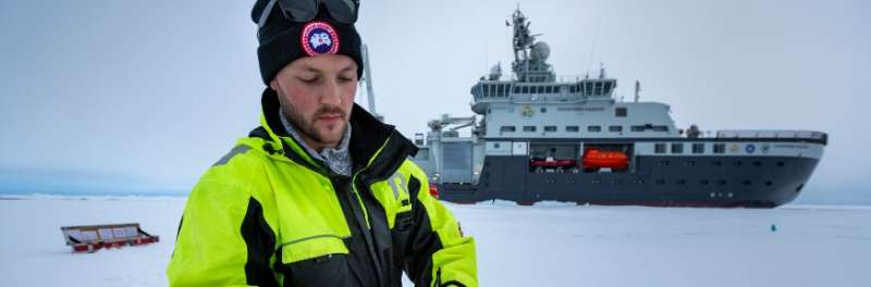 High concentrations of 'forever' chemicals being released from ice melt into the Arctic Ocean