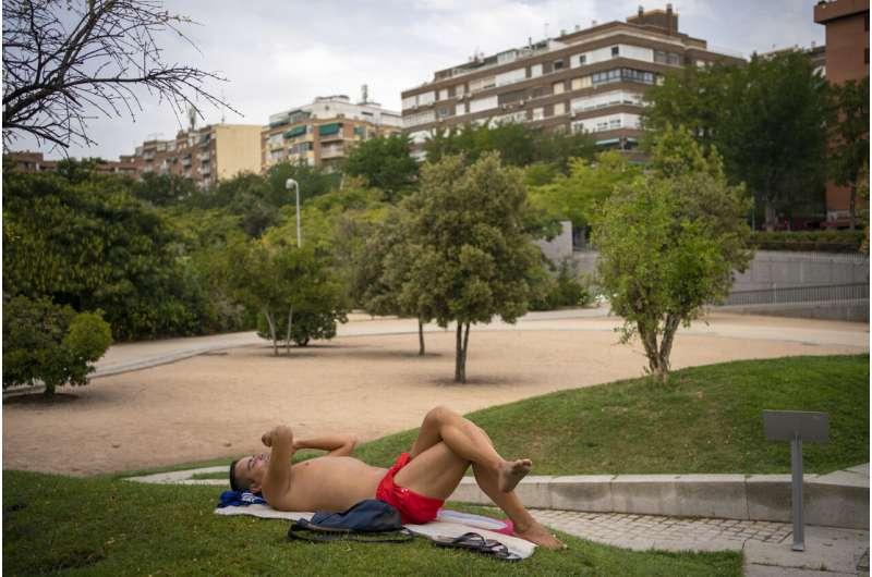 High heat: Spain clocks prelim record of 47.2 C (116.96 F)