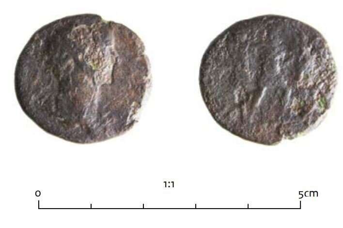 Hoard of Roman coins turns out to be offering for safe crossing