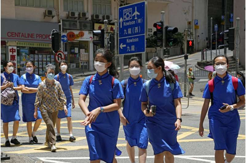 Hong Kong opens vaccine drive to children aged 12 and older