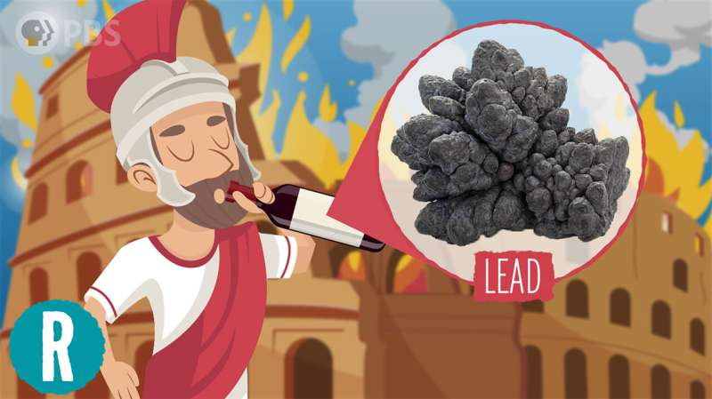 How lead (maybe) caused the downfall of ancient Rome (video)