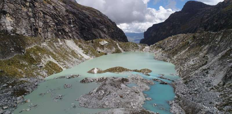 How scientists are using drones to lower the risk of catastrophic flooding from large glacial lakes