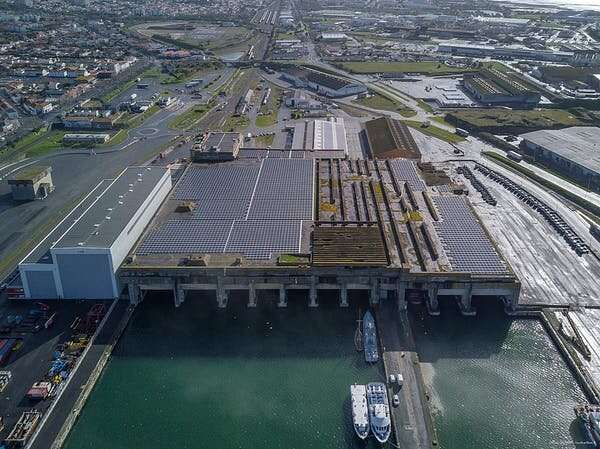 How shipping ports are being reinvented for the green energy transition