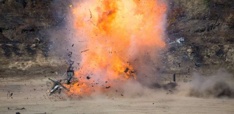 How soil changes the danger of a buried IED - new research