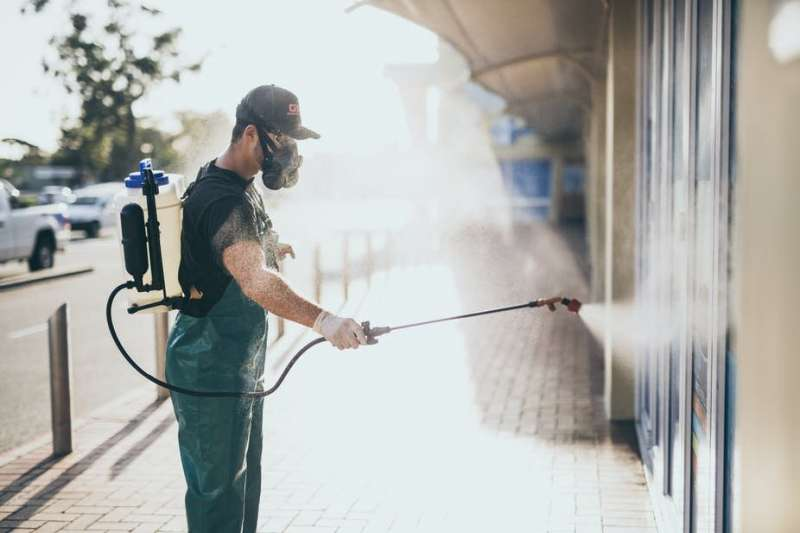 How does resistance to disinfectants happen? We're on the road to answering the question