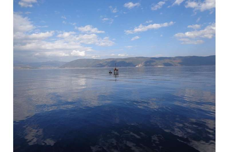 How do lakes affect energy, heat, and carbon exchange processes in mountainous areas?