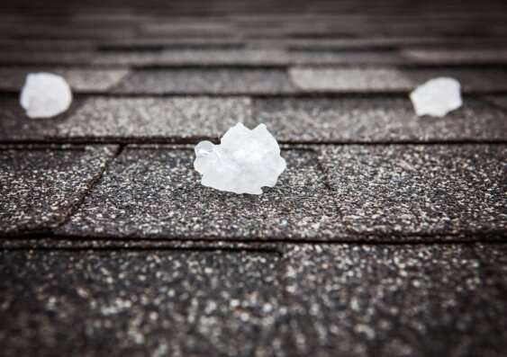 How will climate change affect hailstorms?