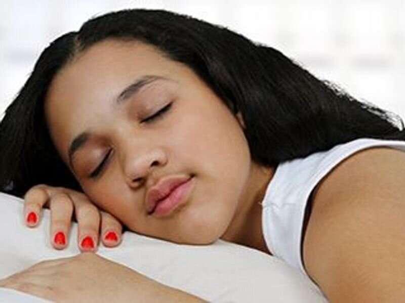How your neighborhood can hamper your teen's sleep