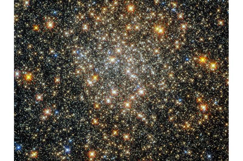 Hubble captures a cluster in the heart of the Milky Way Hubble-captures-a-clus