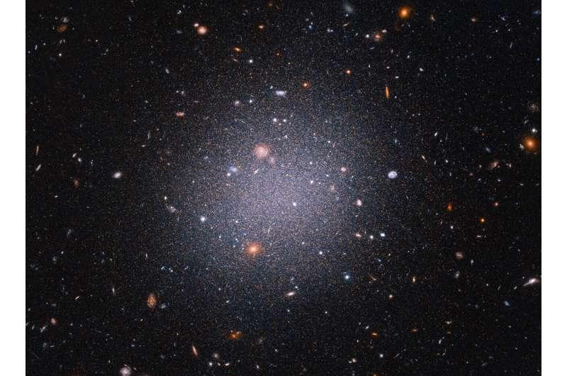 Hubble Data Confirms Galaxies Lacking Dark Matter