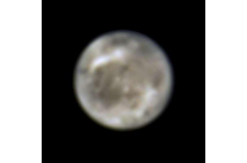 Hubble finds first evidence of water vapor on Jupiter's moon Ganymede