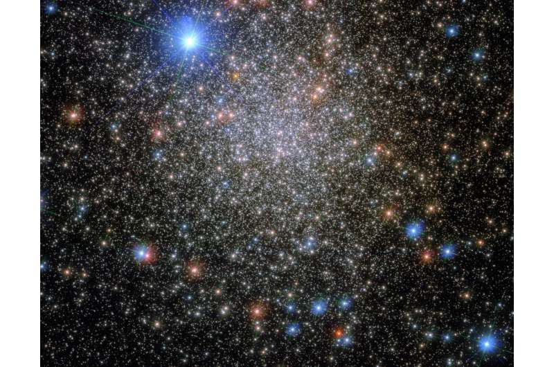 Hubble reveals a 'rediscovered' star cluster