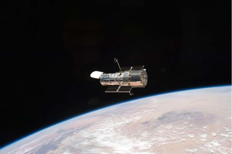 Hubble Space Telescope's Wide Field Camera 3 restored