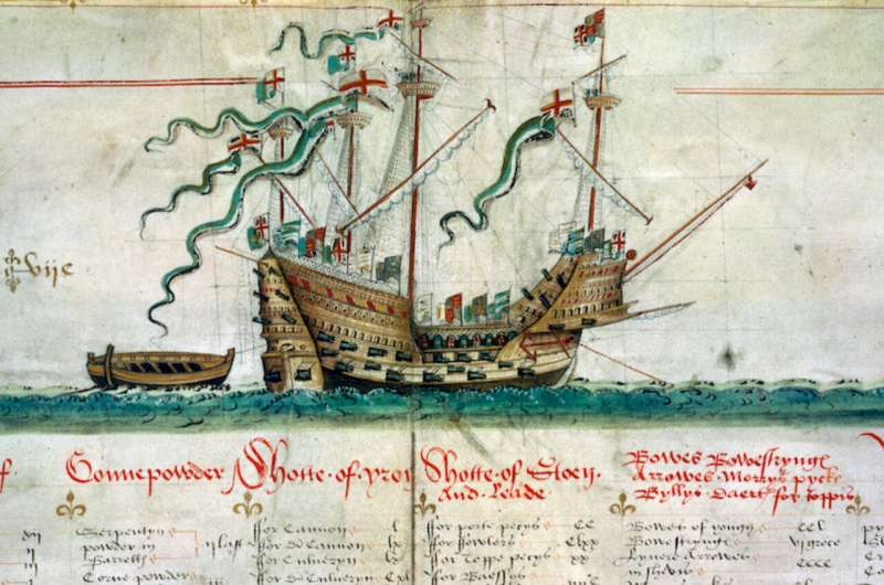 Human remains from Mary Rose show diversity of Tudor crew