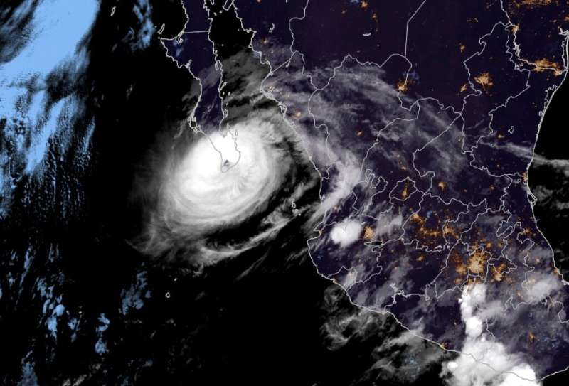 Hurricane Olafhas weakened to a Category One storm