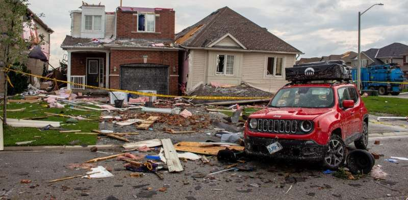 Hurricane straps keep roofs on houses and can improve safety during tornadoes