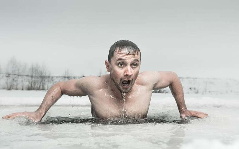 Hypothermia may go unnoticed when exercising in the cold