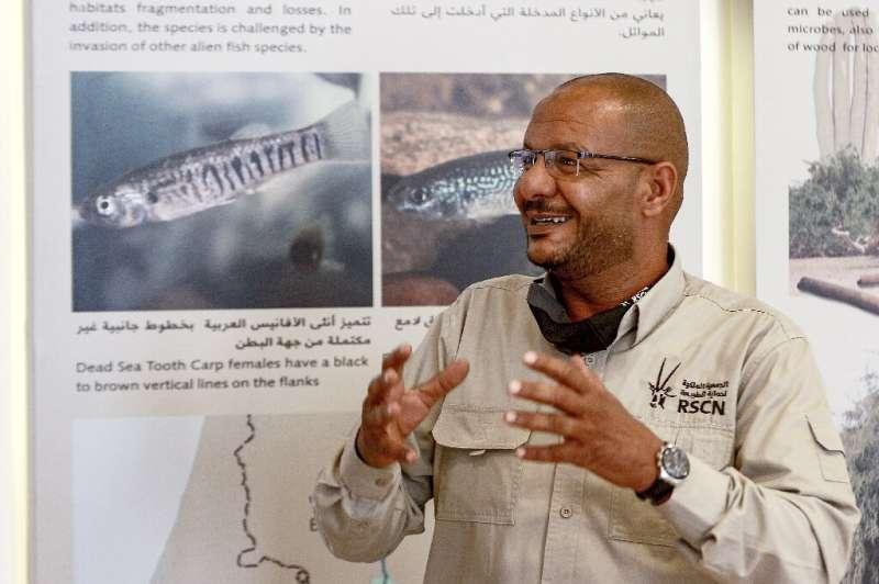 Ibrahim Mahasneh, director de la Reserva Natural de la FIFA y miembro de la Real Sociedad Jordana para la Conservación de la Naturaleza