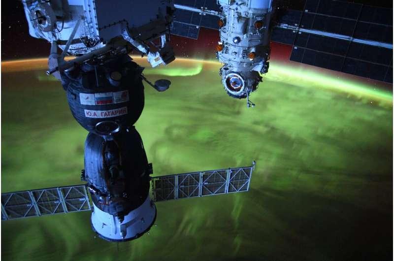 Image: Auroras viewed from orbit