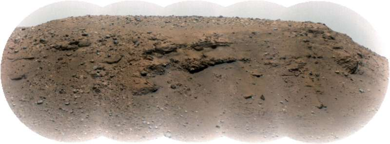 """Image: Jezero Crater's """"Delta Scarp"""""""