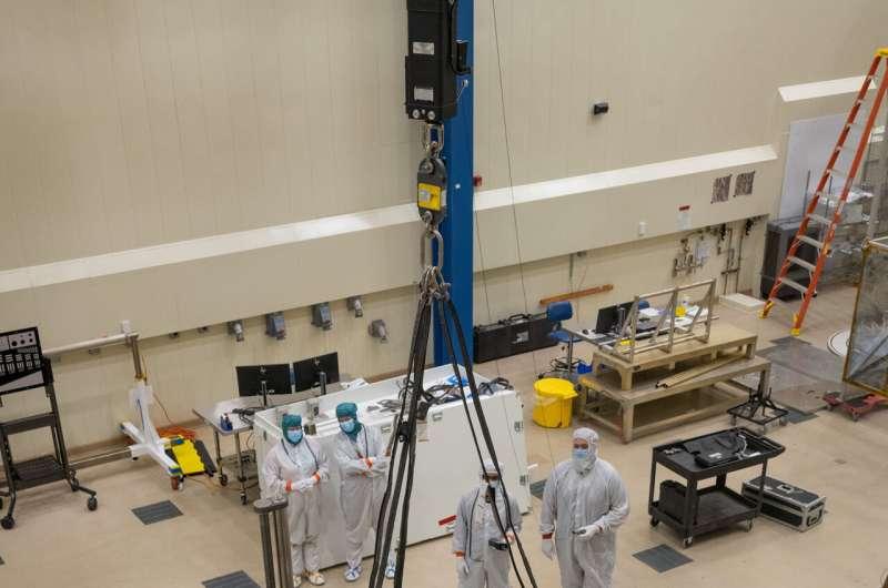 Image: NASA's Lucy high gain antenna up close