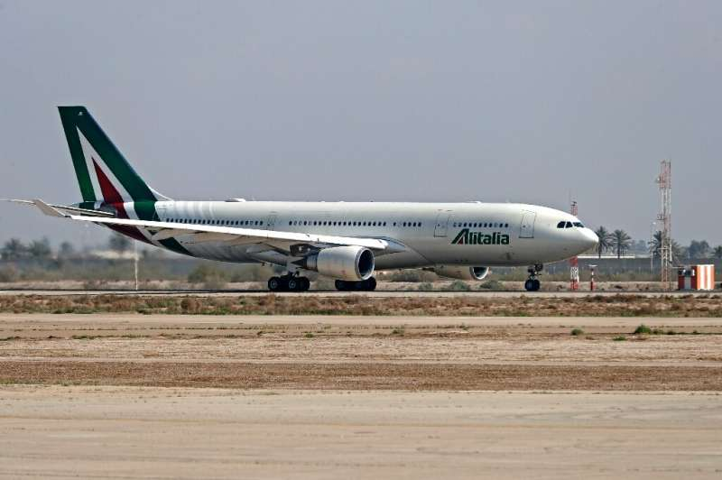 In 2017 and 2019, Alitalia received state loans worth a total 1.3 billion euros