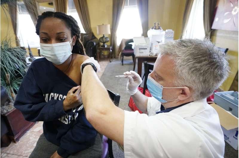 In coronavirus vaccine drive, Deep South falls behind