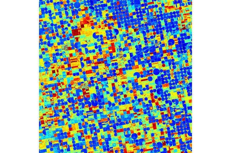 Increasing crop yields: Satellites measure drought stress in plants