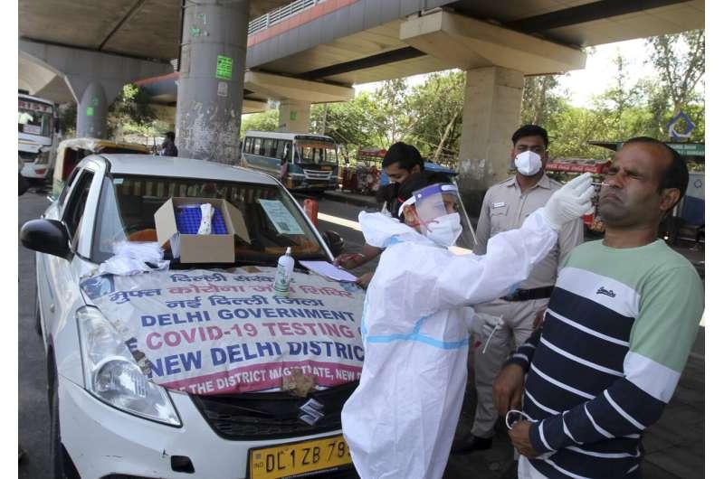 India battles fatal fungal threat as virus deaths near 300K
