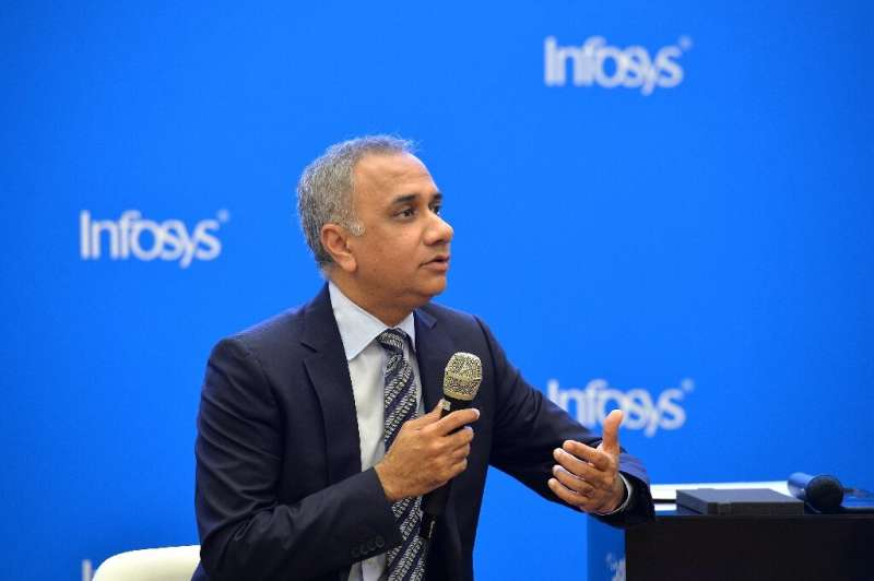 Indian CEO of Infosys Salil Parekh said it is the fastest growth the company has seen in a decade
