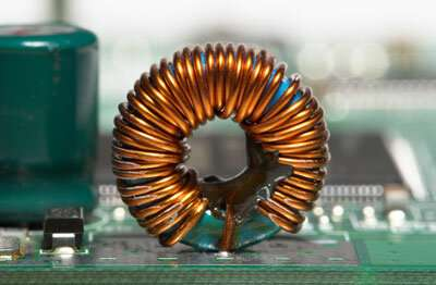 Inductance based on a quantum effect has the potential to miniaturize inductors