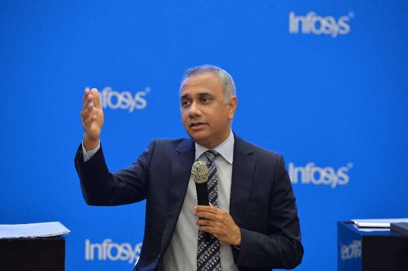 Infosys chief Salil Parekh said growth was the fastest in 11 years