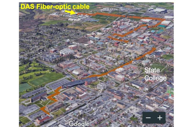 Internet fiber optics could provide valuable insight into geological phenomena