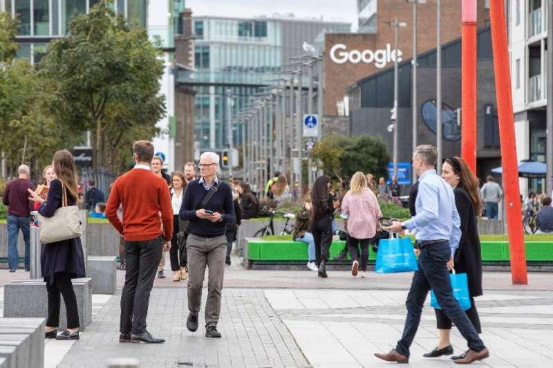 Ireland is home to several global multi-nationals, including Facebook, Apple and Google