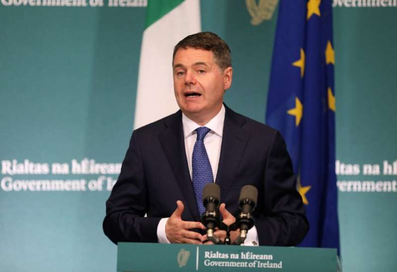 Ireland's finance minister Paschal Donohoe won a key concession to remove a clause calling for 'at least 15 percent' tax