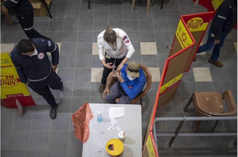 Israel celebrates 5 millionth coronavirus vaccination