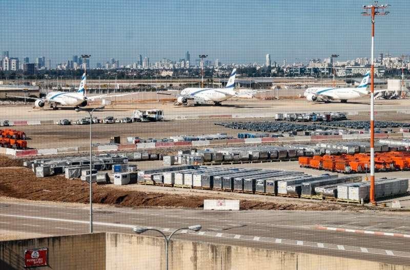 Israeli planes will largely be grounded at Tel Aviv's Ben Gurion International Airport