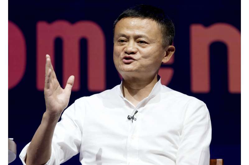 Jack's back: Chinese e-tycoon ends silence with online video