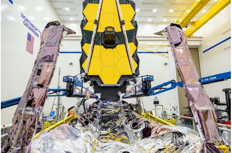James Webb Space Telescope testing progress continues