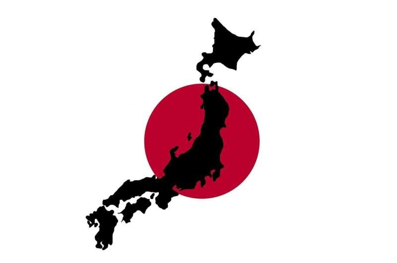 japan map