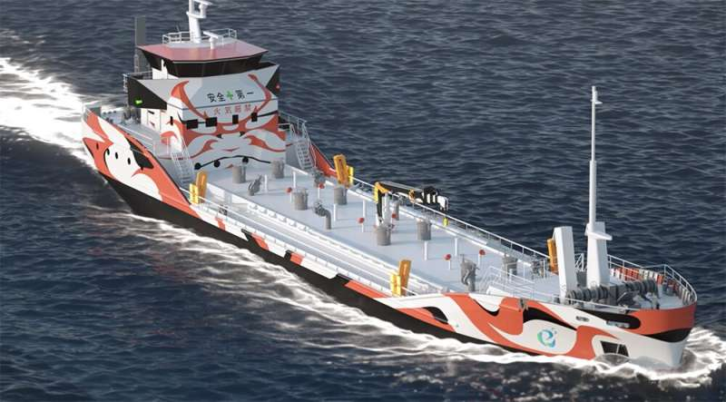 Japanese joint venture to deploy all-electric shoreline tanker