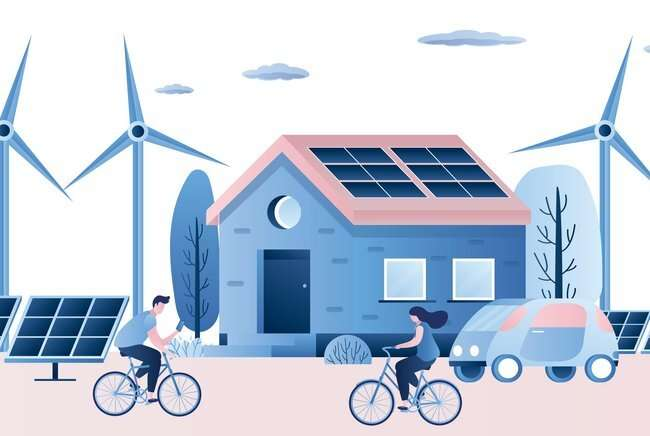 Key life decisions shown to affect car ownership and renewable technologies in the home