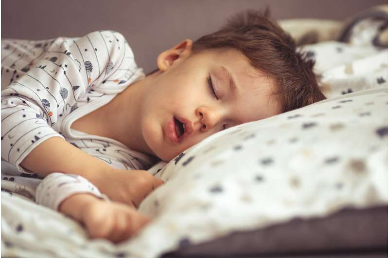 Kids' sleep: check in before you switch off