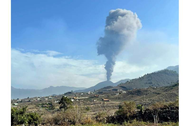 La Cumbre Vieja erupted on September 19, spewing out ash and lava