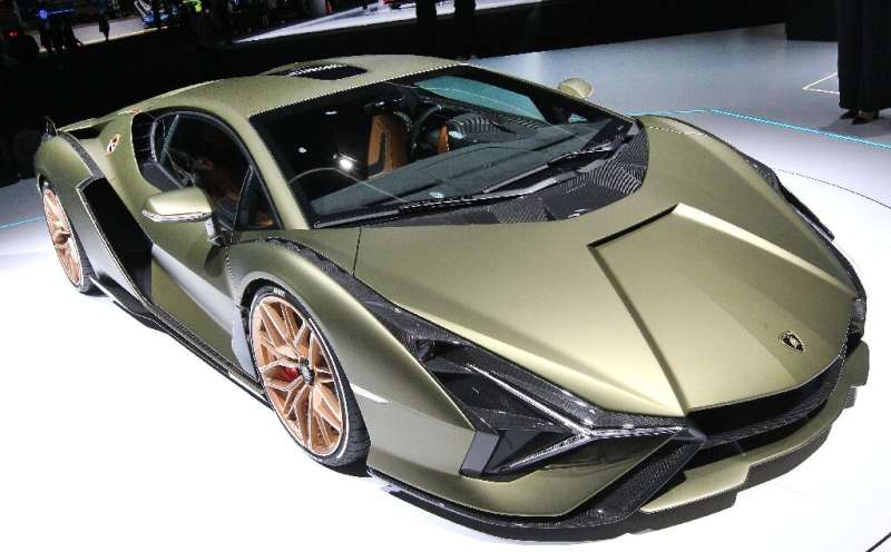 Lamborghini's first hybrid, the Sian, had impressive specifications but only 60 were built