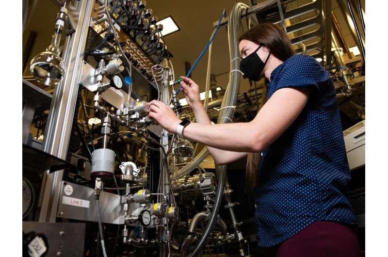 Laser-focused on supercooled water