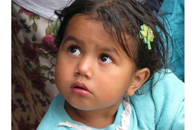 Latino child