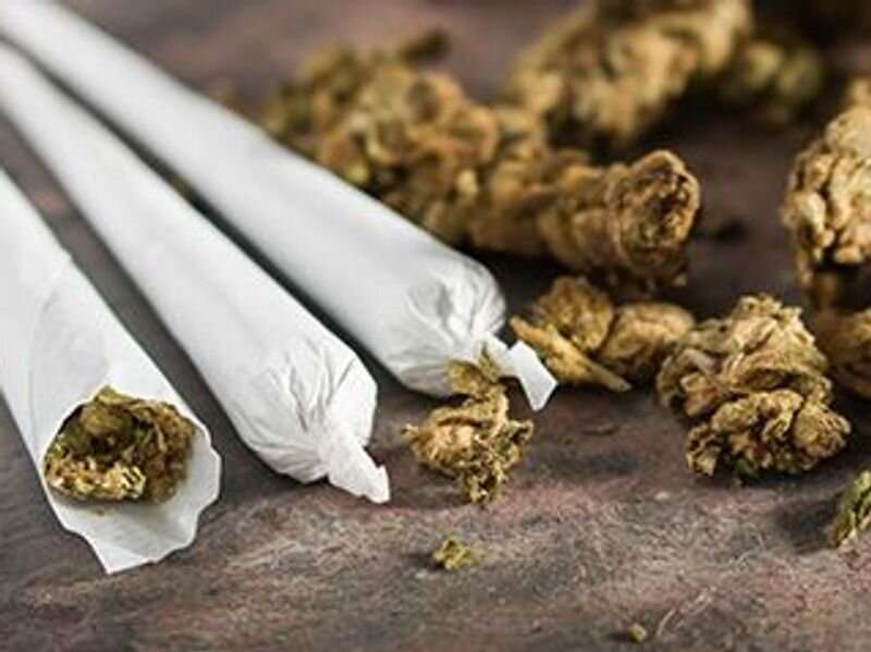Legalized pot tied to rise in young men's suicide attempts