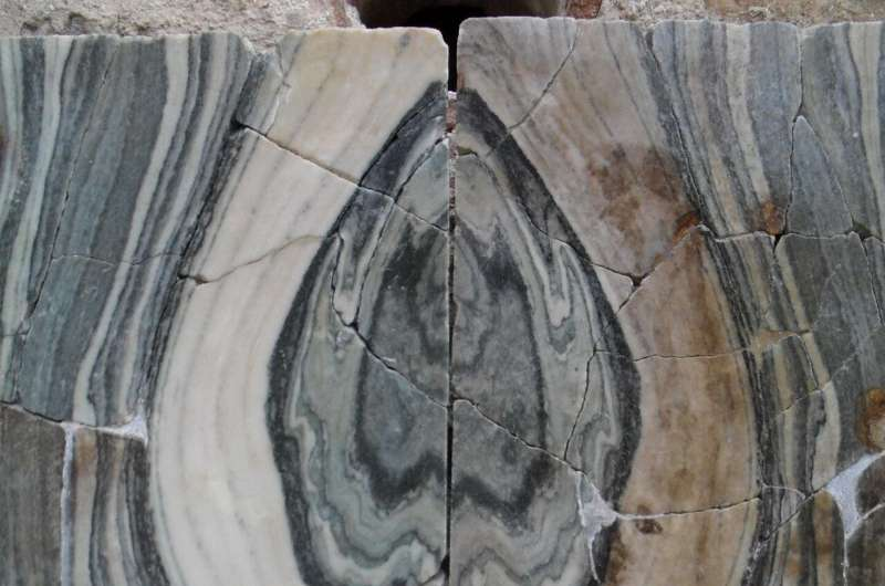 Less wastage during production of marble slabs in the Roman imperial period than today
